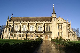 Oundle School - The Chapel of St Anthony