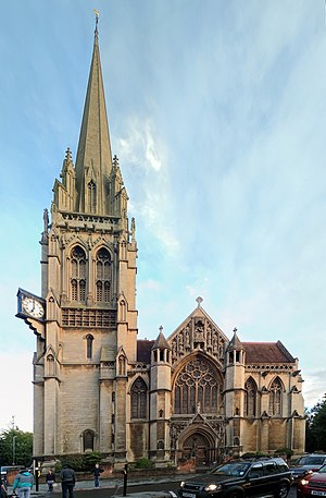 Our Lady and the English Martyrs Church - Image: Our Lady and the English Martyrs catholic church