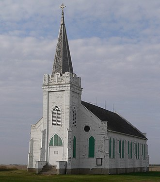National Register of Historic Places listings in Colfax County, Nebraska - Image: Our Lady of Perpetual Help (Colfax Co) from NE