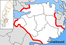 Oxelösund Municipality in Södermanland County.png