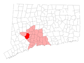 Town in Connecticut, United States
