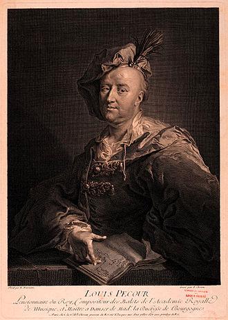 Louis-Guillaume Pécour - Louis Pécour