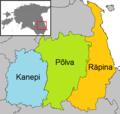 Põlva municipalities 2017.png