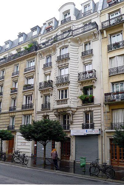 Fichier:P1030594 Paris XII rue Montgallet immeuble n°10bis rwk.JPG