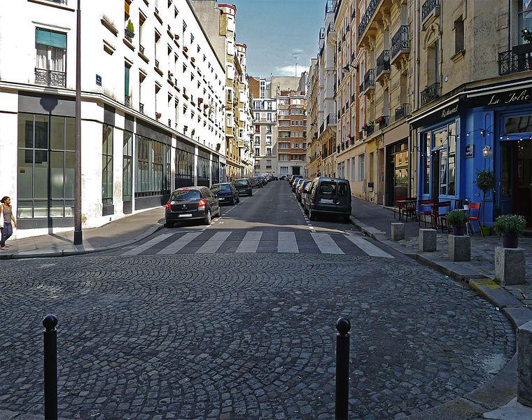 Fichier:P1260965 Paris XVIII rue Darwin rwk.jpg