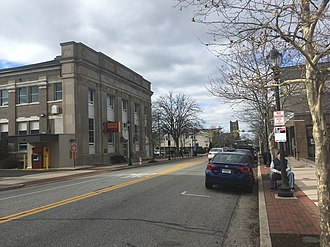 Lansdale, Pennsylvania - Main Street in Lansdale