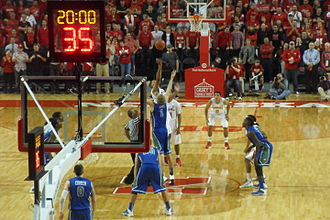 Nebraska Cornhuskers men's basketball - Nebraska vs. Florida Gulf Coast at Pinnacle Bank Arena on November 8, 2013, the first game at the new arena