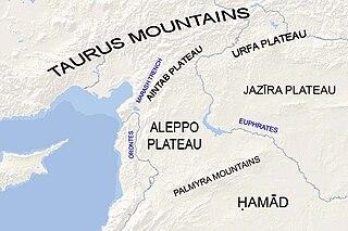 plateau region in northern Syria