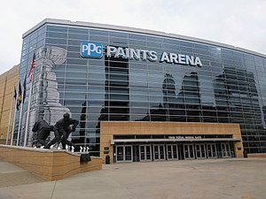 Das PPG Paints Arena in Pittsburgh (März 2017)