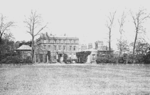 Bushy House - East side of Bushy House in 1901/1902