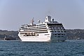 Pacific Princess cruiser on the Bosphorus, Turkey 001.jpg
