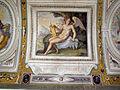 Palazzo di sforza almeni, sala con affreschi, figura allegorica 04.JPG
