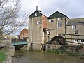 Palmer's Brewery, Bridport (with waterwheel) - geograph.org.uk - 347012.jpg