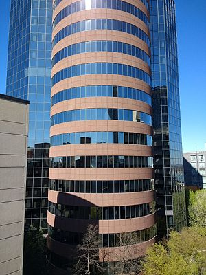 Palmer Plaza - Palmer Plaza, location of the Consulate-General of Japan, Nashville