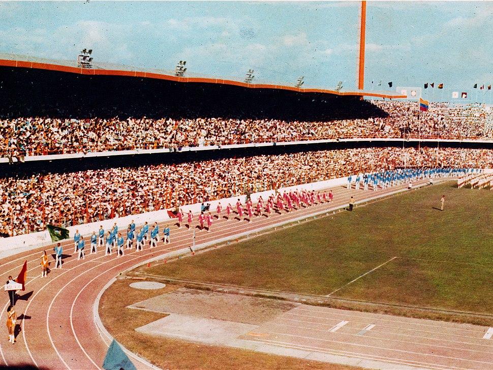 PanAm Games, Cali, 1971.