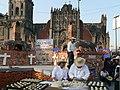 Pan de los Muertos demonstration in the Zocalo (2988558830).jpg
