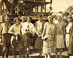 Pancho Barnes and the Powder Puff Derby at Long Beach, California circa 1930-1931.jpg
