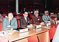 Pandit Ram Kishore Shukla representing Madhya Pradesh at conference of presiding officers of legislative bodies of India at New Delhi in 1983.jpg