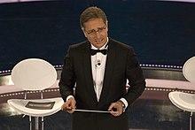 Paolo Bonolis alla conduzione del Festival di Sanremo del 2009