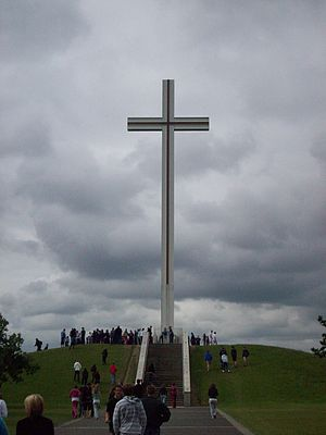 Papal cross - The Papal Cross in the Phoenix Park, Dublin.