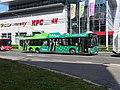 Pardubice, Palackého třída u Masarykova náměstí, trolejbus 403.jpg