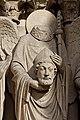 Paris - Cathédrale Notre-Dame - Portail de la Vierge - PA00086250 - 003.jpg