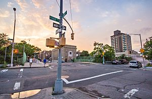 Park Avenue - Park Avenue in Fordham, The Bronx near Fordham Plaza.