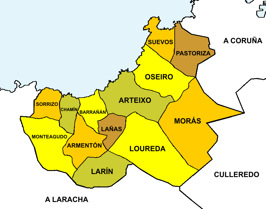 Parroquias do concello de Arteixo