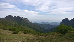 Part of the view on Qinling mountains.jpg