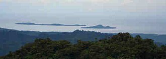 Libagon, Southern Leyte - View from Patag Daku facing the Pacific Ocean