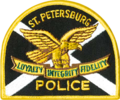 Patch of the St. Petersburg, Florida Police Department.png