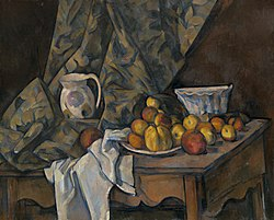Paul Cézanne: Still Life with Apples and Peaches