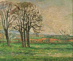 The Bare Trees at Jas de Bouffan