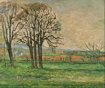 Paul Cézanne - The Bare Trees at Jas de Bouffan - Google Art Project.jpg