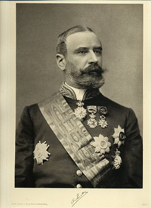 Order of Leopold (Belgium) - Count de Smet de Naeyer, Grand Cordon