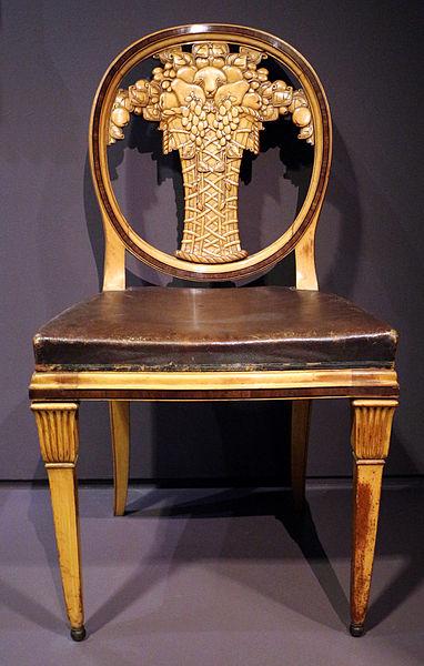 Archivo paul follot coppia di sedie da sala da pranzo francia post 1912 02 jpg wikipedia - Paul signac la sala da pranzo ...