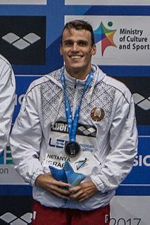 Pavel Sankovich Belarusian swimmer