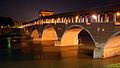 Pavia, Ponte Coperto by night.jpg