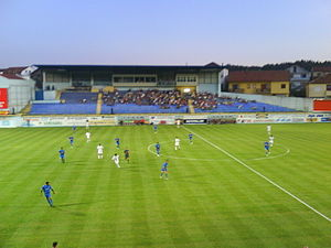 NK Široki Brijeg - Široki Brijeg vs. FC Banants on 9 July 2009