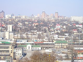 Raion in Kiev, Ukraine