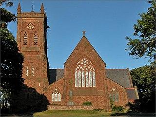 Peel Cathedral Church in Peel, Isle of Man