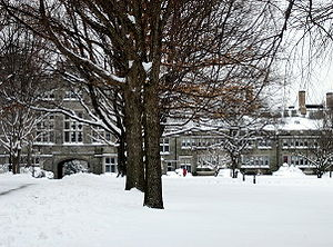 Seven Sisters (colleges) - Image: Pembroke Hall at Bryn Mawr
