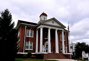Pendleton County, West Virginia - Image: Pendleton County Courthouse, West Virginia