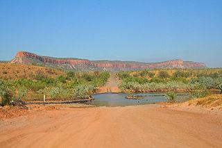 Pentecost River River in the Kimberley region of Western Australia