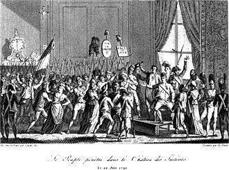 Insurrection of 10 August 1792 - Journée of 20 June 1792
