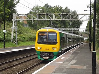 Chase Line - A Class 323 calls at Perry Barr.