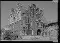 Perspective view looking northeast - Henry Harnischfeger House, 3424 West Wisconsin Avenue, Milwaukee, Milwaukee County, WI HABS WI-366-1.tif