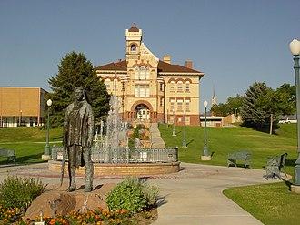 Payson, Utah - Peteetneet Museum in Payson