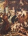 26 / Gemäldezyklus für Maria de' Medici, Königin von Frankreich, Szene: Die Gückseligkeit der Regentschaft der Maria von Medici