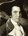 Peter Perez Burdett - Ausschnitt aus einem Bild des englischen Malers Joseph Wright of Derby von 1765.jpg